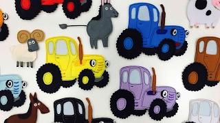 Download РАЗВИВАЙКА про Синий трактор - Мультик про животных и цвета для детей малышей Mp3 and Videos