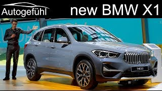 2020 new BMW X1 Facelift REVIEW Exterior Interior - Autogefühl