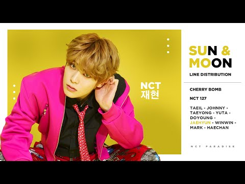 NCT 127 - Sun & Moon (Line Distribution)