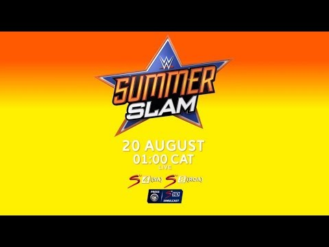 WWE SummerSlam 2018 | LIVE on SuperSport