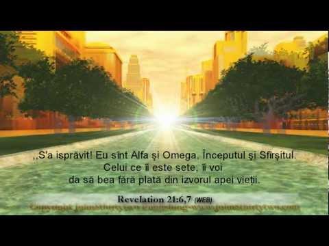 noul Ierusalim, Apocalipsa 21, 22, român, Romanian subtitles, oraşul sfânt, Biblie from YouTube · Duration:  9 minutes 47 seconds