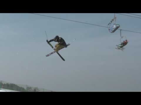 Nanshan Freeski Open Finals Run