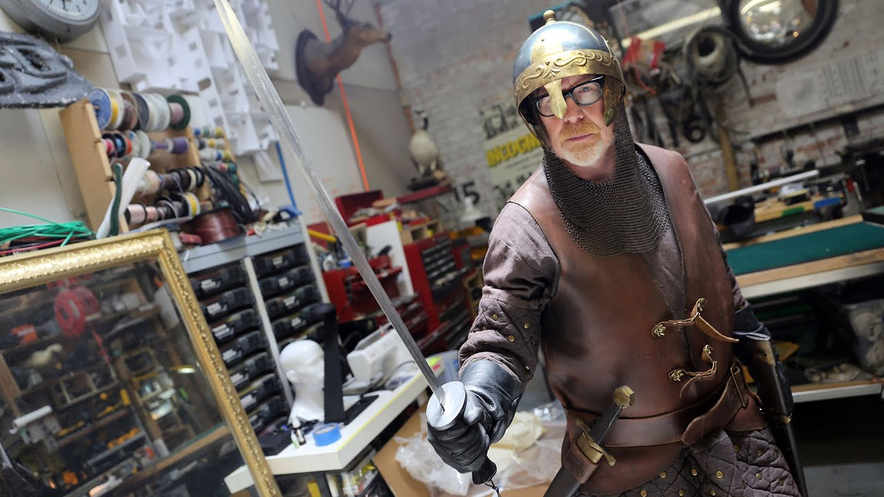 adam savages new medieval armor costume youtube