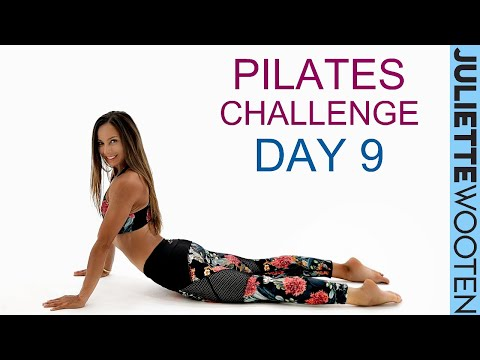 Full Body Pilates Workout | 10 DAY Pilates Challenge Day #9 | Juliette Wooten