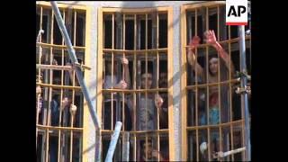 LEBANON: BEIRUT: INTERIOR MINISTER MURR VISITS TROUBLED PRISON