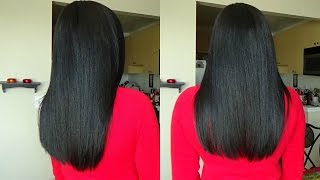 Relaxed Hair Care| How to Moisturize and Seal Relaxed Hair