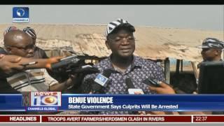 Gov. Samuel Ortom Blames 'Ghana' For Benue Killings