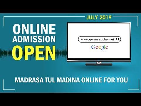 Online Quran Teacher   Madrasa Tul Madina Online Courses   Online Admission Open