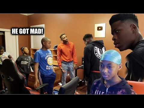FUNNYMIKE & THE KIDS KICKING TRAVIS OUT PRANK!