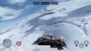 [STAR WARS BF] 「AT-ATはエアスピーダーで一撃必殺!!」