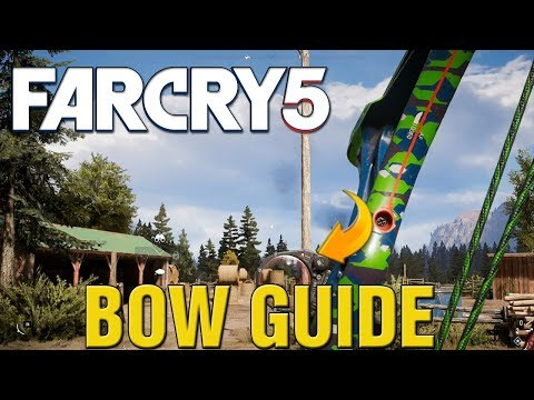 Far Cry 5 How To Use INSANE Bow! Far Cry 5 Bow BEST Weapon GUIDE!