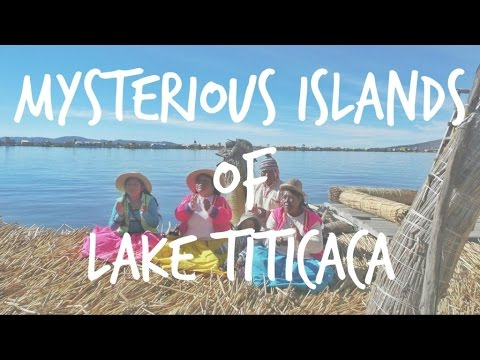 Mysterious islands of lake Titicaca, Peru