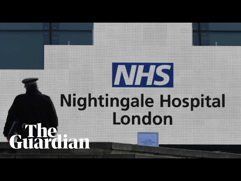 Coronavirus: Opening Of Emergency Nightingale Hospital In London – Watch Live