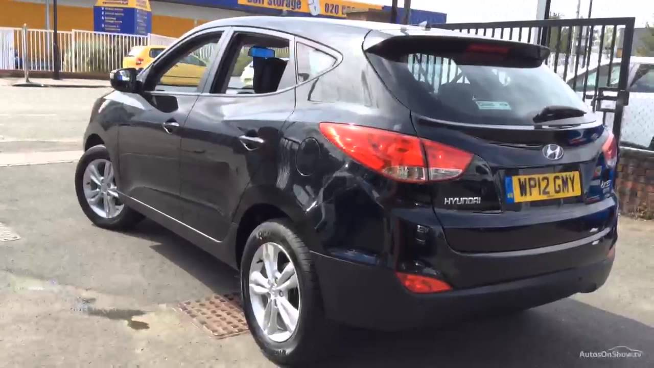 hyundai ix35 style crdi black 2012 youtube. Black Bedroom Furniture Sets. Home Design Ideas