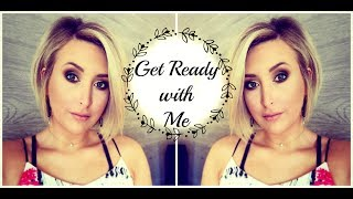 SUPER EASY SMOKEY EYE | GET READY WITH ME | Summer Whitfield