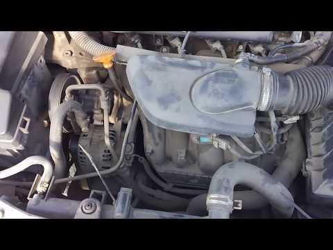 Проверка двигателя Пежо 406 2001 год 6FZ