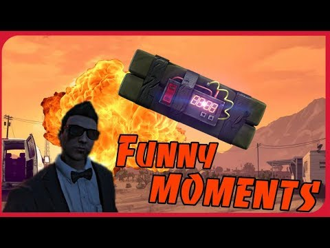 Funny moments in GTA 5