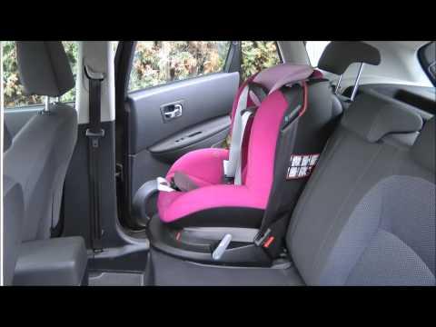 MAXI-COSI Tobi mounted in Nissan Qashqai (consumer presentation)