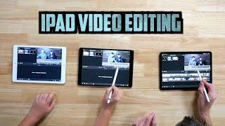 "iPad Video Editing Comparison: 2020 iPad Pro vs iPad Air vs 10.5"" iPad Pro"
