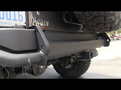 AEV Jeep |  AEV Rear Bumper | AEV Accessories | Morris 4x4 Center