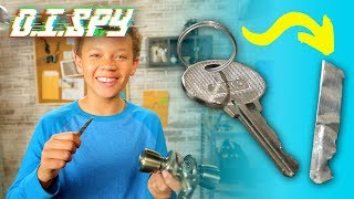 How to Open a Locked Door! (DIY Key Copier)  | D.I.SPY