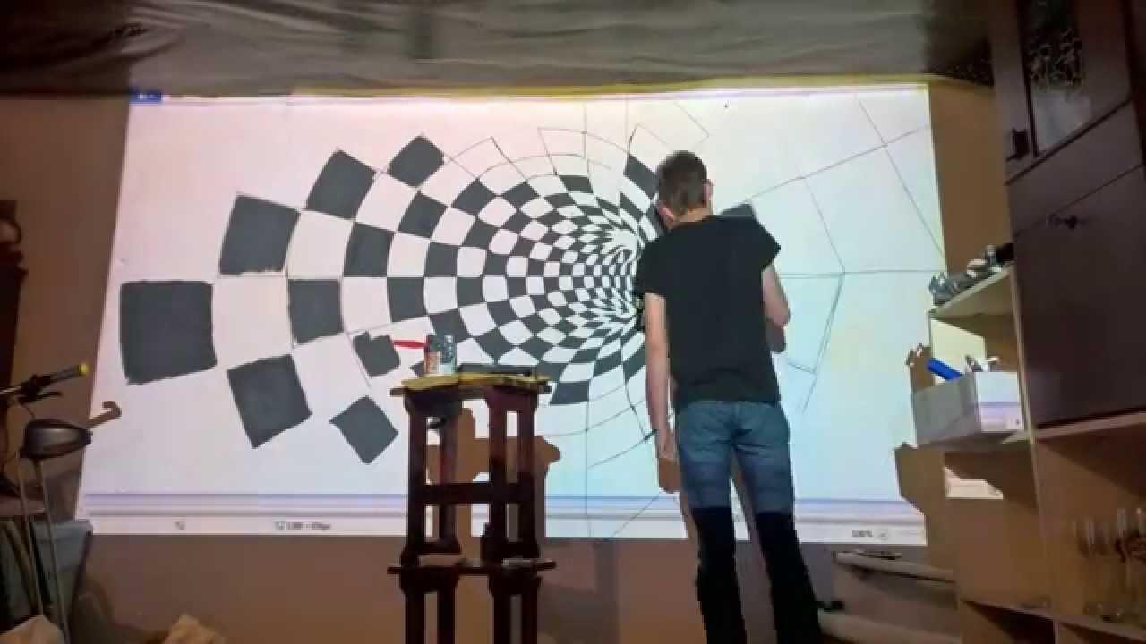3d Brick Mural Wallpaper Epson 3d Wall Painting Timelapse Youtube