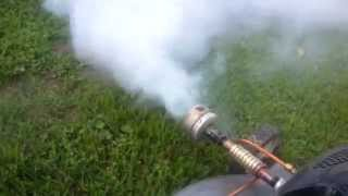 Lawn Mower Fogger (DIY/Homemade with parts explanation)