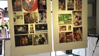 凡天太郎 - Morning Sweep - Bon Ten Taro Exhibition at Gallery Hakusen, Asagaya.