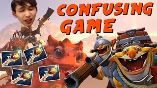 THE MOST CONFUSING GAME EVER (SingSing Dota 2 Highlights #1520)