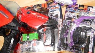 プレックスからミニドア銃とミニブレイクガンナーが登場!ミニチェイサースパイダーバイラルコア、ミニシフトテクニックも付属!仮面ライダードライブ thumbnail