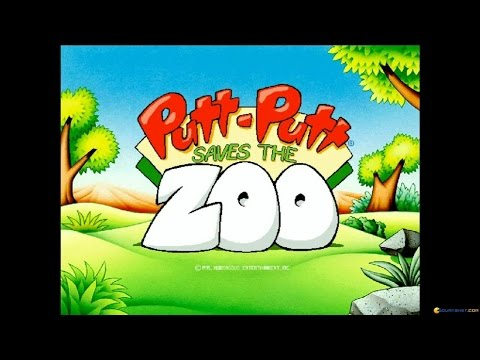 Putt-Putt Saves the Zoo gameplay (PC Game, 1995) thumbnail