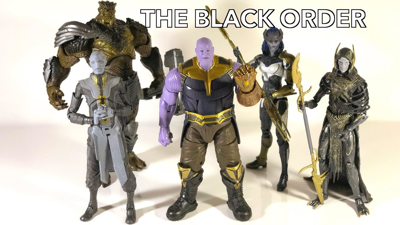 Black Order Marvel Deutsch