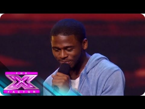 Marcus Canty  Audition 1  THE X FACTOR 2011
