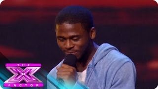 Marcus Canty - Audition 1 - THE X FACTOR 2011