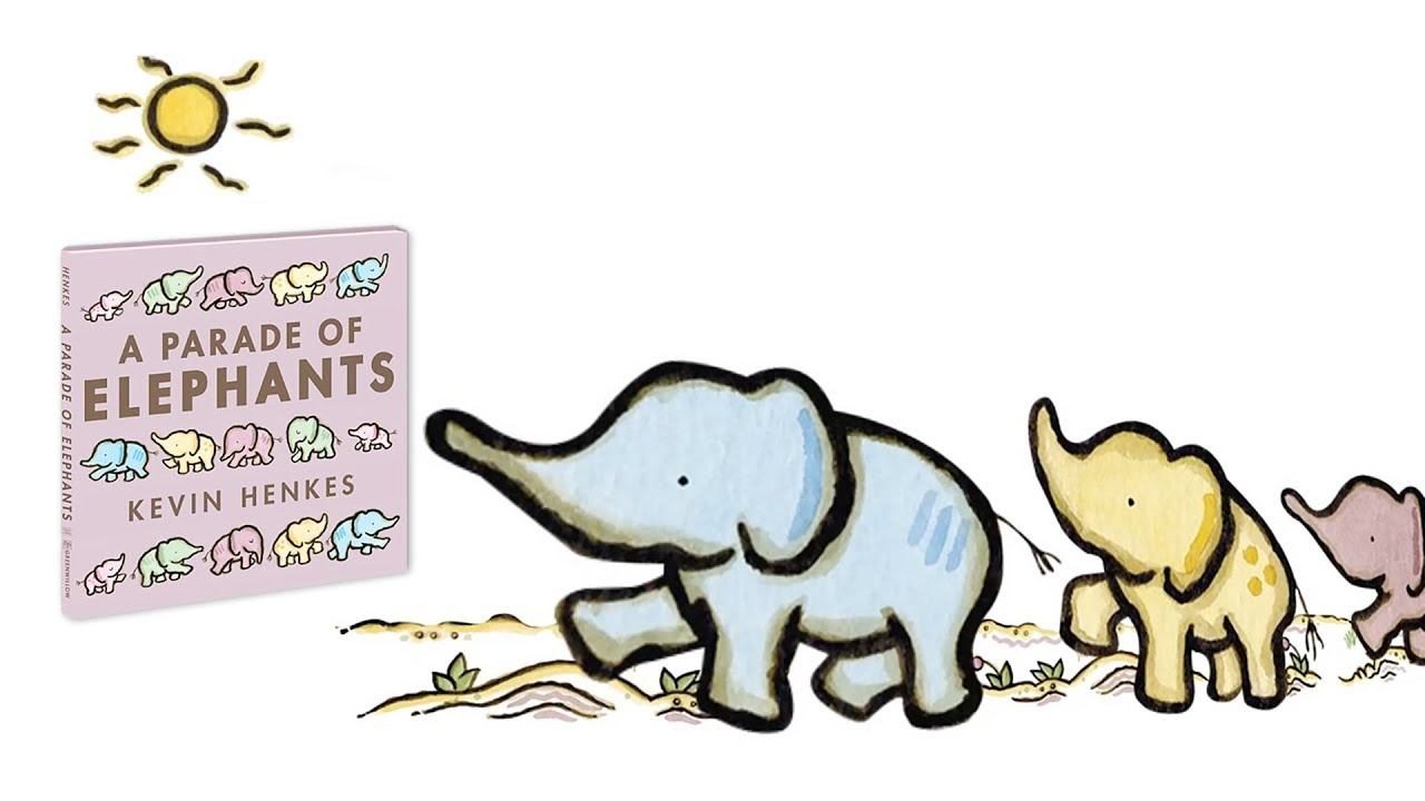 a parade of elephants by kevin henkes book trailer youtube