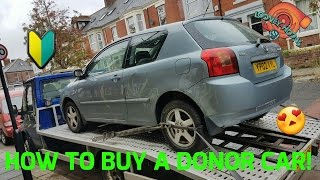HOW TO BUY YOUR FIRST DONOR CAR! Ft. Wannabe Chris Rudnik