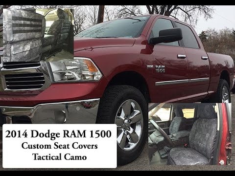 2014 dodge ram 1500 custom seat covers tactical kryptek. Black Bedroom Furniture Sets. Home Design Ideas