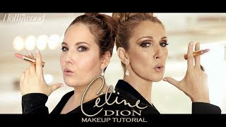 Celine Dion Makeup Tutorial | Hollywood Reporter Magazine