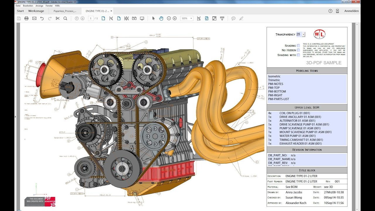 3D PDF Technology for CAD Collaboration · PROSTEP US