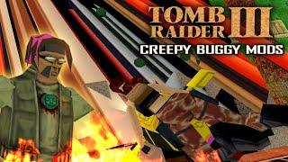 🎮 Weirdest Mansion Ever! (Tomb Raider III Creepy Buggy MODS)