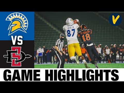 San Jose State vs San Diego State Highlights | Week 10 2020 College Football Highlights