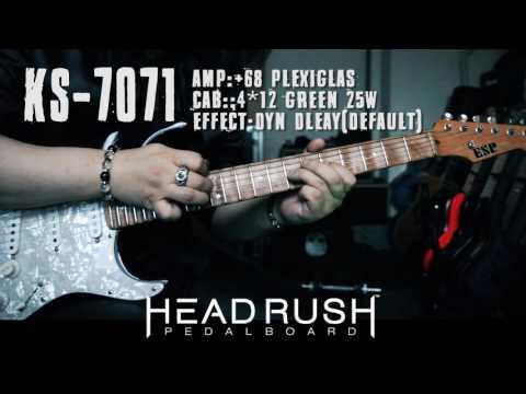 発売日決定記念★HEAD RUSH PEDALBOARD Demonstoration by Kelly SIMONZ