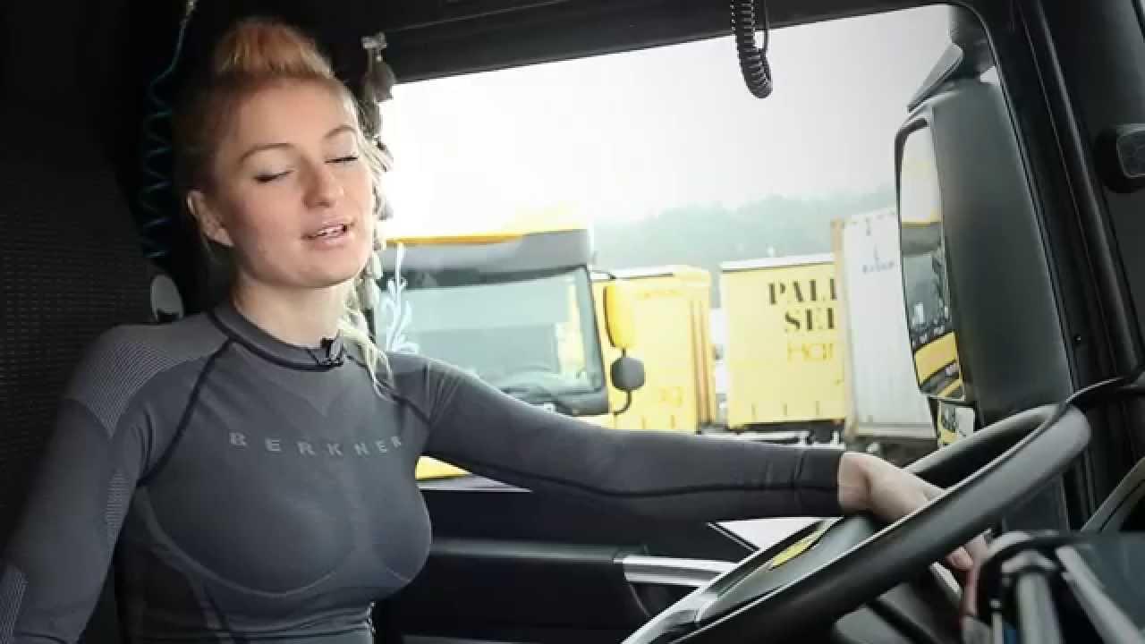 Trucker Girl Wallpaper Trenuj Z Trucking Girl Ćwiczenia W Kabinie Youtube