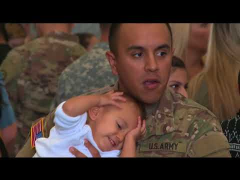 California National Guard 1st Battalion of the 184th Infantry Regiment Deployment Ceremony