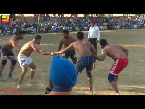 KOT DHARMCHAND (Tarn Taran) KABADDI CUP - 2016 || FULL HD || Part 2nd