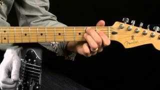 Clapton style Blues Turnaround in Key of E
