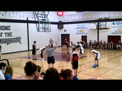 Western Valley Attack vs Basketball New Brunswick U15 2014