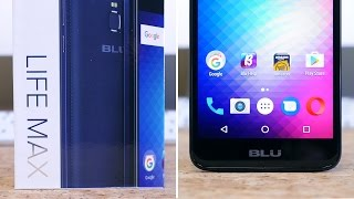 BLU Life Max Unboxing and First Impressions