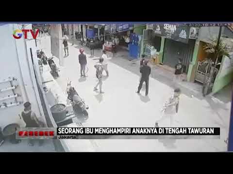 Emak-emak Bubarkan Tawuran Pemuda Di Jakarta Utara - Gerebek 13/10