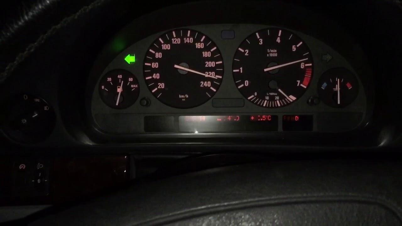 BMW 740i E38 V8 Top Speed Vmax GPS Racelogic